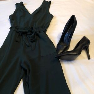 Monteau Green Jumpsuit